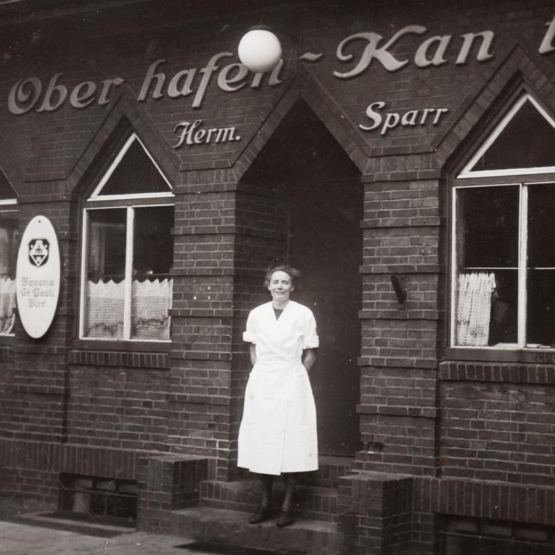 Historisches aus der Oberhafen-Kantine Hamburg , Anita