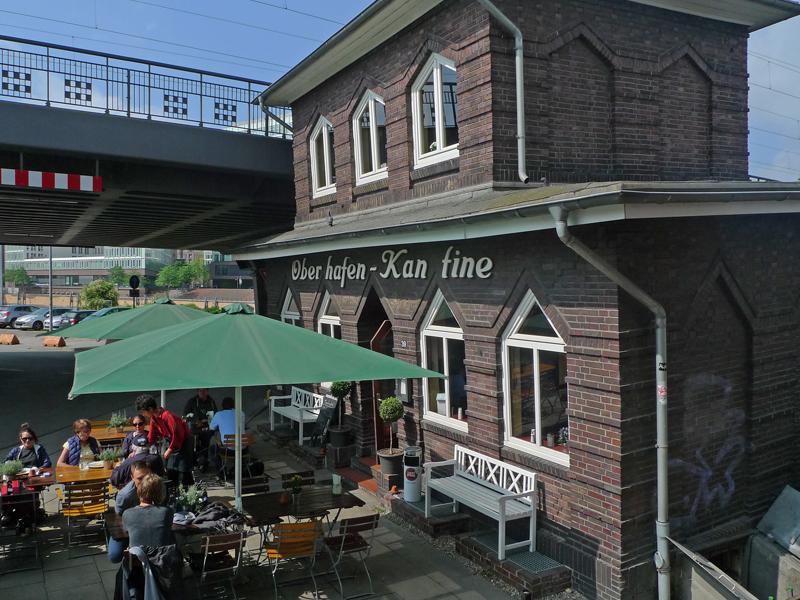 Feiern & Tagen in der Oberhafen-Kantine