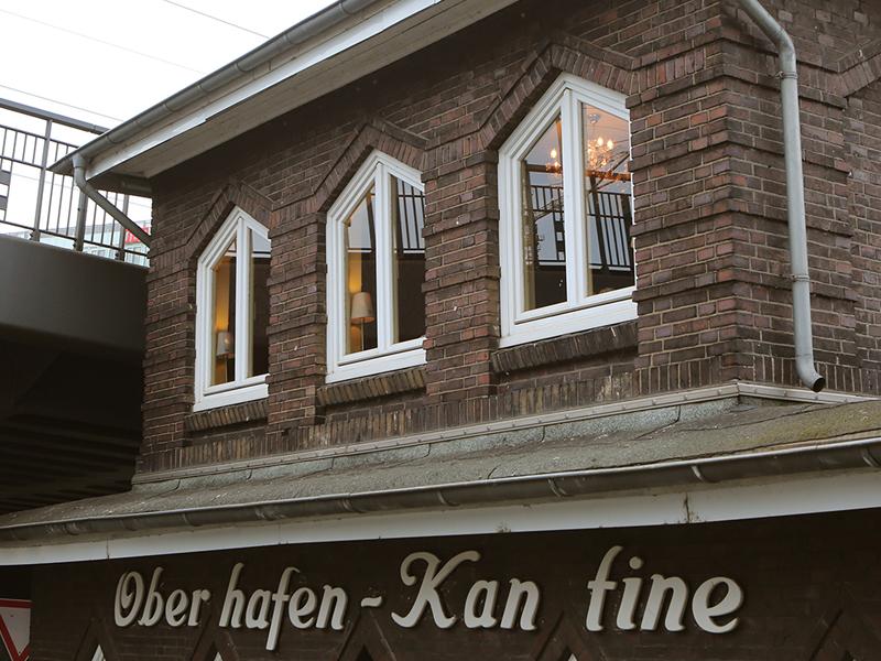 Feiern & Tagen in der Stube der Oberhafen-Kantine Hamburg