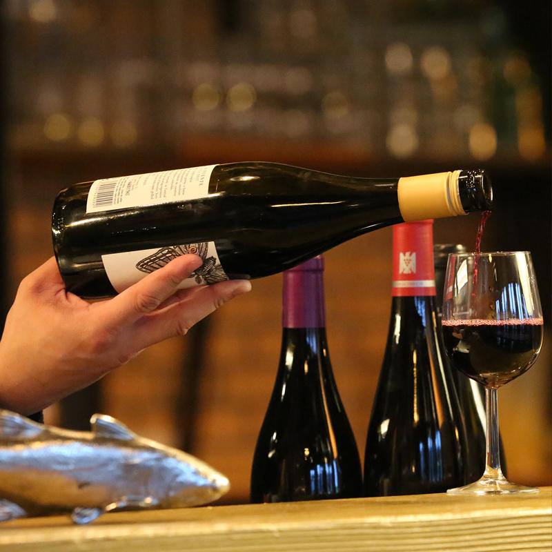 Speis & Trank, Weinkarte