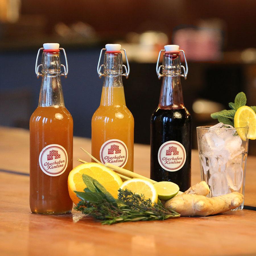 Schönes & Leckeres zum Mitnehmen, Hausgemachter Limonadensirup